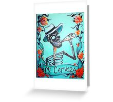 Mi Cerveza Greeting Card
