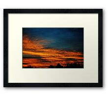 Painted Picture Framed Print