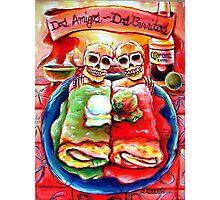 Dos Amigos, Dos Burritos,  Photographic Print