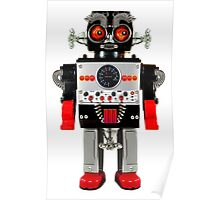 Vintage Robot 3 T-Shirt Poster