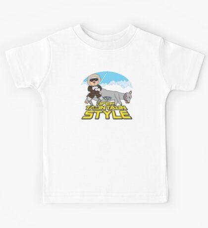 Open Tauntaun Style Kids Tee