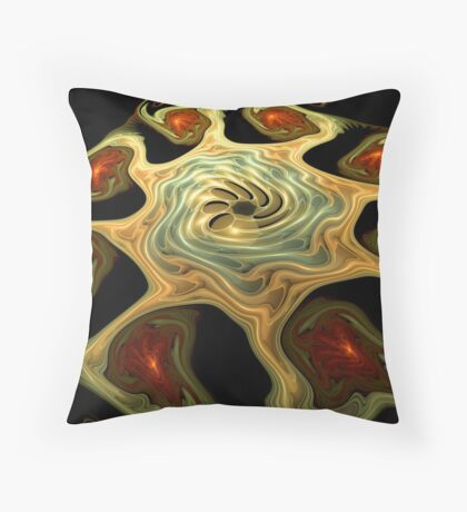 The Haunted Gnarls Throw Pillow