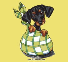 Doberman Sack Puppy Kids Tee