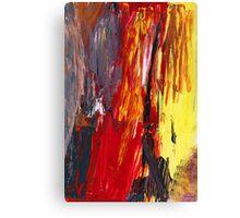Abstract - Acrylic - Rising power Canvas Print