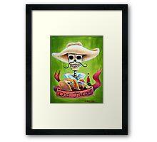 Dos Tacos Framed Print
