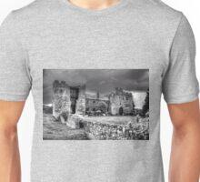 The Broken Tower B&W Unisex T-Shirt