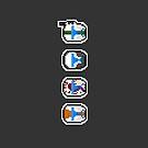 Pixel Delta Squad Helmets (Group) by PixelBlock