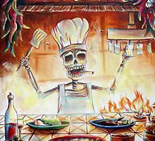 El Cocinero by HCalderonArt