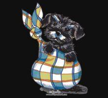 Miniature Schnauzer Sack Puppy One Piece - Long Sleeve