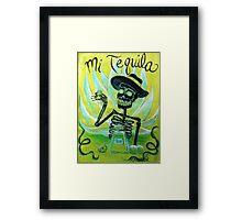 Mi Tequila Framed Print