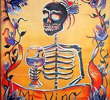 Mi Vino by HCalderonArt