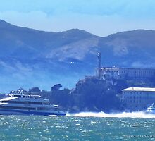 ALCATRAZ SHUTTLE by David Denny