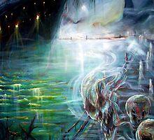 Ghost Ship Center by Heather Calderon