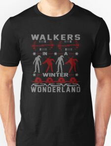 Walkers in a Winter Wonderland T-Shirt