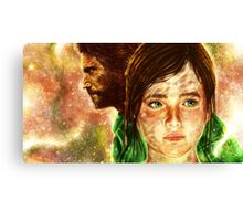 The Last of Us - Joel and Ellie  Canvas Print