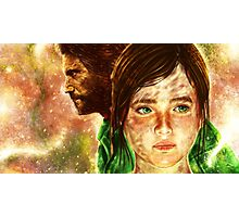 The Last of Us - Joel and Ellie  Photographic Print