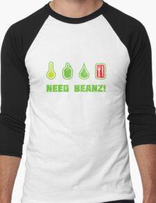 Need Beanz! Men's Baseball ¾ T-Shirt