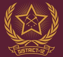 District 12 - Workers shirt (soviet gold) by Artpunk101
