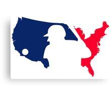 Baseball America Canvas Print
