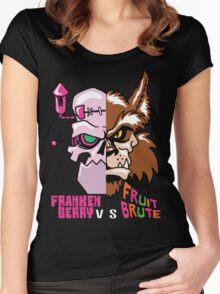 Frankenberry vs Fruit Brute Women's Fitted Scoop T-Shirt