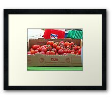 A little bit of Balsamic vinegar, a little Olive Oil... Framed Print