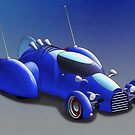 "Grobo-car - ""Hot Rod of the Future"" by kenmo"