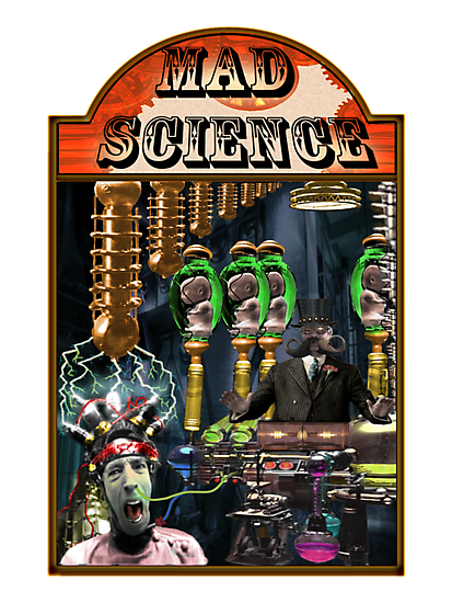 MAD SCIENCE by Russell Lang