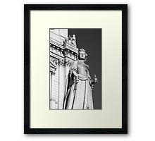 Queen Anne 1 B&W Framed Print