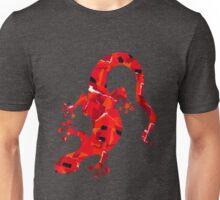 Red Lizard Collage Unisex T-Shirt