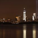 New York City/Tribute In Light; 9/6/2012 by Kevin Koepke