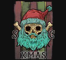 SANTA CLAUS SKULL XMAS Unisex T-Shirt