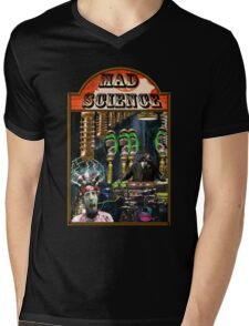 MAD SCIENCE Mens V-Neck T-Shirt