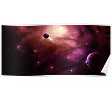 Mysterious Galaxy Poster