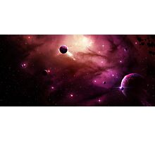 Mysterious Galaxy Photographic Print