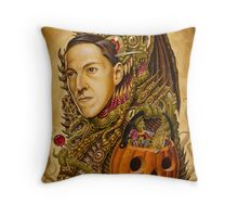 Costume of Cthulhu Throw Pillow