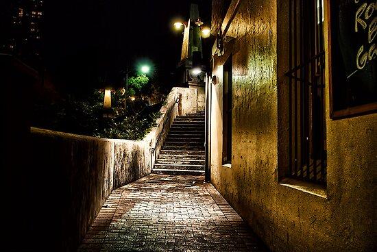Night, street, light by andreisky