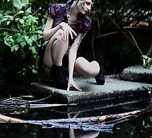Water Bird by PorcelainPoet