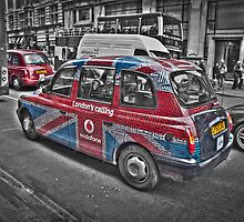 Vodafone Taxi by Tasos Hatzikirou