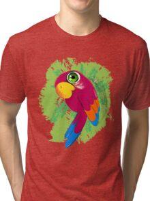 Parrot Tri-blend T-Shirt