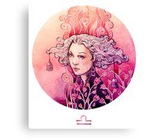 - Libra - Canvas Print