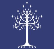 Tree of Gondor by hiddenfate