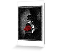 The Mourner Greeting Card