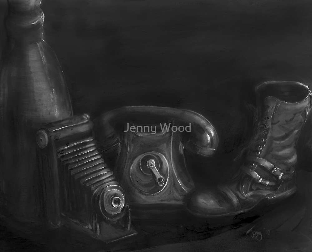 A dark collection by Jenny Wood