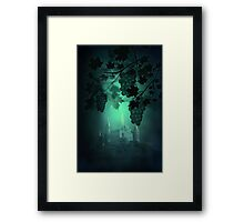 Castle and Grapes Framed Print