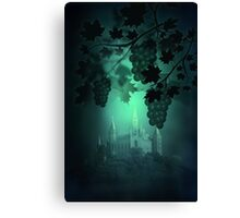 Castle and Grapes Canvas Print
