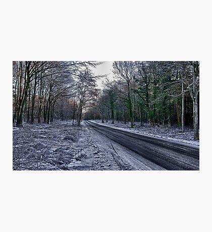 A Winters Scene Photographic Print