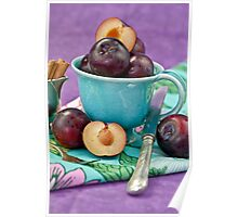 Purple Plums Poster