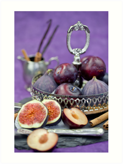 Figs & Plums by Barbara Neveu