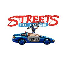 STREETS OF RAGE POLICE SUPPORT  by srvsl