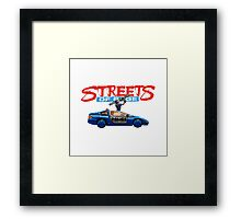 STREETS OF RAGE POLICE SUPPORT  Framed Print